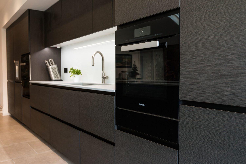 dark contemporary kitchen